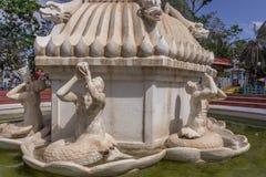 Άποψη των αρχαίων αγαλμάτων, μέρος γλυπτών της πηγής καταρρακτών, Chennai, Ινδία, στις 29 Ιανουαρίου 2017 Στοκ φωτογραφία με δικαίωμα ελεύθερης χρήσης
