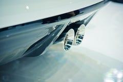 Άποψη των αυτοκινήτων Στοκ Εικόνες