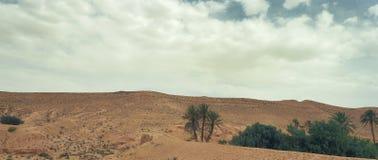 Άποψη των βουνών ατλάντων Νότια Τυνησία Στοκ φωτογραφίες με δικαίωμα ελεύθερης χρήσης