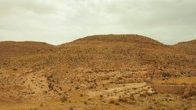 Άποψη των βουνών ατλάντων Νότια Τυνησία Στοκ φωτογραφία με δικαίωμα ελεύθερης χρήσης