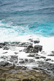 Άποψη των βουνών και της φύσης στη Ανατολική Ακτή της Ταϊβάν Στοκ Εικόνες