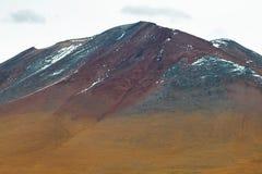 Άποψη των βουνών στο πέρασμα Sico Στοκ φωτογραφία με δικαίωμα ελεύθερης χρήσης