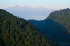 Άποψη των βουνών Tatra. Στοκ Φωτογραφίες