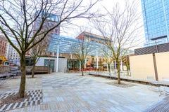 Άποψη των διευθυντών Park στο στο κέντρο της πόλης Πόρτλαντ, Όρεγκον στοκ φωτογραφία με δικαίωμα ελεύθερης χρήσης