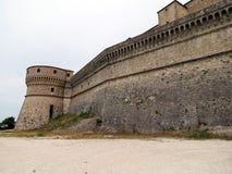 Άποψη των ισχυρών οχυρώσεων του φρουρίου του SAN Leo στοκ εικόνες με δικαίωμα ελεύθερης χρήσης