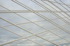 Άποψη των καλωδίων Στοκ φωτογραφία με δικαίωμα ελεύθερης χρήσης