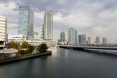 Άποψη των κτηρίων Yokohama Στοκ Εικόνα
