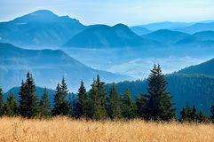 Άποψη των σλοβάκικων βουνών Στοκ Φωτογραφίες