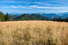 Άποψη των σλοβάκικων βουνών Στοκ φωτογραφία με δικαίωμα ελεύθερης χρήσης