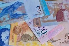 Άποψη των της Βενεζουέλας χρημάτων bolivares στοκ εικόνες