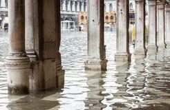 Άποψη των arcades με το απόγειο στη Βενετία Στοκ φωτογραφίες με δικαίωμα ελεύθερης χρήσης