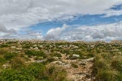 Άποψη φάρων Cavalleria menorca Ισπανία των Βαλεαρίδων Νή& Στοκ Φωτογραφίες