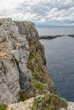 Άποψη φάρων Cavalleria menorca Ισπανία των Βαλεαρίδων Νή& Στοκ Εικόνες