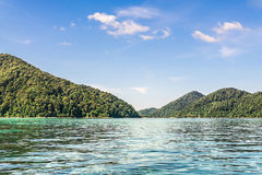Άποψη φύσης η θάλασσα στοκ εικόνα με δικαίωμα ελεύθερης χρήσης