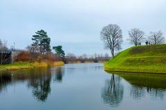 Άποψη φύσης στην Κοπεγχάγη Δανία Στοκ Εικόνες