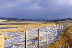 Άποψη χιονώδες pampas στοκ εικόνες με δικαίωμα ελεύθερης χρήσης