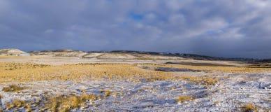 Άποψη χιονώδες pampas στοκ εικόνες