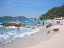 Άποψη ‹â€ ‹θάλασσας †Koh Larn Ταϊλάνδη στοκ εικόνα με δικαίωμα ελεύθερης χρήσης