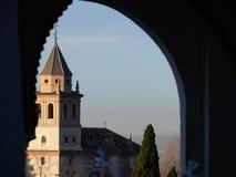 Άποψη Alhambra σύνθετο στοκ εικόνες
