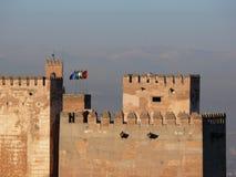 Άποψη Alhambra σύνθετο στοκ εικόνα με δικαίωμα ελεύθερης χρήσης
