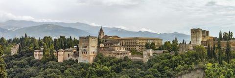 Άποψη Alhambra στοκ εικόνα
