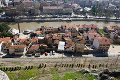 Άποψη Amasya από την κορυφή Στοκ φωτογραφίες με δικαίωμα ελεύθερης χρήσης