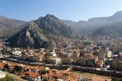 Άποψη Amasya από την κορυφή Στοκ Εικόνες