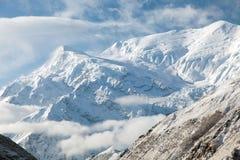Άποψη Annapurna 3 ΙΙΙ, σειρά Annapurna Στοκ Εικόνες