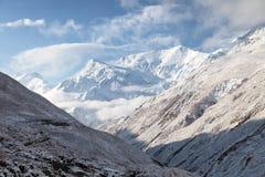 Άποψη Annapurna 3 Στοκ Εικόνα