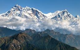 Άποψη Annapurna Himal - του Νεπάλ - της Ασίας Στοκ εικόνες με δικαίωμα ελεύθερης χρήσης