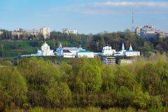 Άποψη Annunciation του μοναστηριού σε Nizhny Novgorod Στοκ εικόνες με δικαίωμα ελεύθερης χρήσης