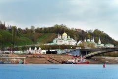 Άποψη Annunciation του μοναστηριού σε Nizhny Novgorod Στοκ φωτογραφίες με δικαίωμα ελεύθερης χρήσης