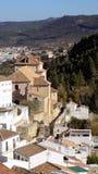 Άποψη antequera-Ανδαλουσία-Ισπανία Στοκ εικόνα με δικαίωμα ελεύθερης χρήσης