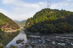Άποψη Arashiyama στο Κιότο κατά τη διάρκεια του φθινοπώρου Στοκ φωτογραφίες με δικαίωμα ελεύθερης χρήσης