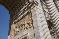 Άποψη Arco του ρυθμού della Στοκ Φωτογραφία