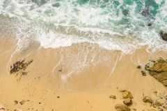 Άποψη Areial της παραλίας στοκ φωτογραφία
