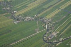 Άποψη Arial από την πεδιάδα παραθύρων στοκ φωτογραφίες