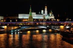 Άποψη Arial του Κρεμλίνου, Μόσχα Στοκ Εικόνες