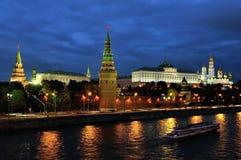 Άποψη Arial του Κρεμλίνου, Μόσχα Στοκ φωτογραφία με δικαίωμα ελεύθερης χρήσης