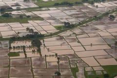 Άποψη Arial Yangon Στοκ Φωτογραφίες