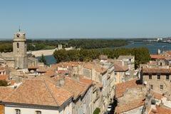 Άποψη Arles, Γαλλία Στοκ Εικόνες