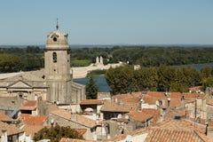 Άποψη Arles, Γαλλία Στοκ φωτογραφίες με δικαίωμα ελεύθερης χρήσης