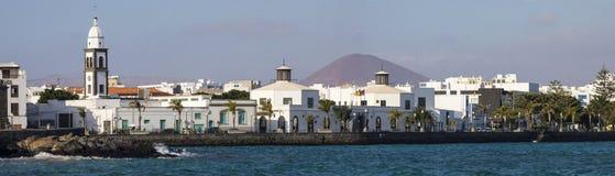 Άποψη Arrecife σε Lanzarote Στοκ φωτογραφία με δικαίωμα ελεύθερης χρήσης