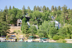 Άποψη arrowhead λιμνών σε Καλιφόρνια Στοκ φωτογραφία με δικαίωμα ελεύθερης χρήσης