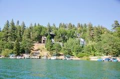 Άποψη arrowhead λιμνών σε Καλιφόρνια Στοκ Φωτογραφία