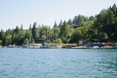 Άποψη arrowhead λιμνών σε Καλιφόρνια Στοκ φωτογραφίες με δικαίωμα ελεύθερης χρήσης
