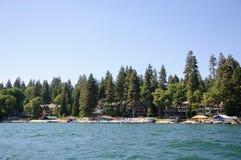 Άποψη arrowhead λιμνών σε Καλιφόρνια Στοκ εικόνες με δικαίωμα ελεύθερης χρήσης