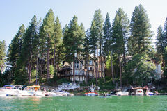 Άποψη arrowhead λιμνών σε Καλιφόρνια Στοκ Εικόνα