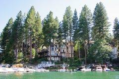 Άποψη arrowhead λιμνών σε Καλιφόρνια Στοκ Εικόνες
