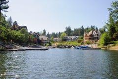 Άποψη arrowhead λιμνών σε Καλιφόρνια Στοκ Φωτογραφίες
